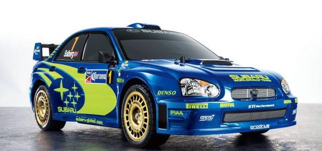 Tamiya Subaru Impreza Mexico 2004 Limited Edition