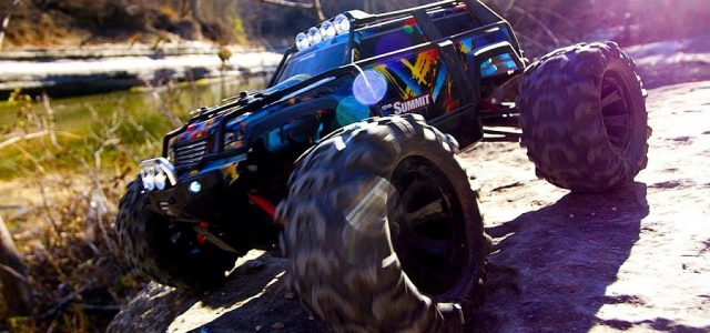 Traxxas 1/16 Summit: Smaller Size, Big Attitude! [VIDEO]