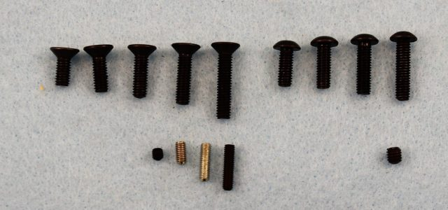 X Factory 4mm Hardware & Set Screws