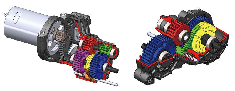Gmade GR-01 GOM - Engine cutaways