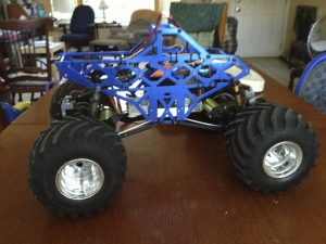 RC Monster Truck, Grave Robber, Monster Jam, HPI, Tamiya Clod Buster, Cadillac, Red Cat, Ground Pounder, Crawford Racing, Team Associated RC10, Axial, Hobbywing