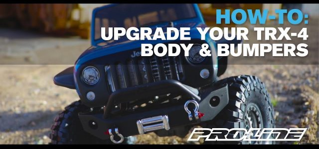 Pro-Line HOW TO: Upgrade Your TRX-4 Part 2 [VIDEO]