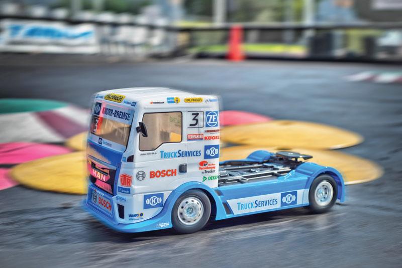 Beginner Friendly RC Cars - Tamiya TT-01 E MAN TGS