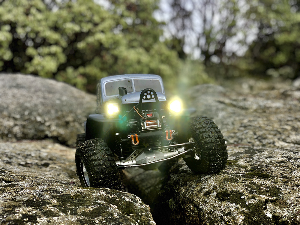 Mopar, Dodge Power Wagon, rock crawler, BP Customs, Holmes Hobbies, Pro-Line, CNC Customs, TJRC, PigSnot Chassis