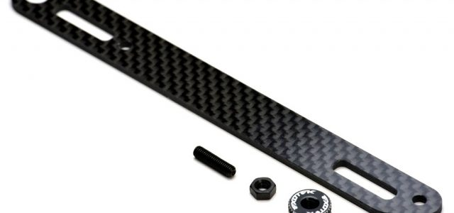 Exotek Carbon Fiber LiPo Strap & Twist Nut Set For The XB4