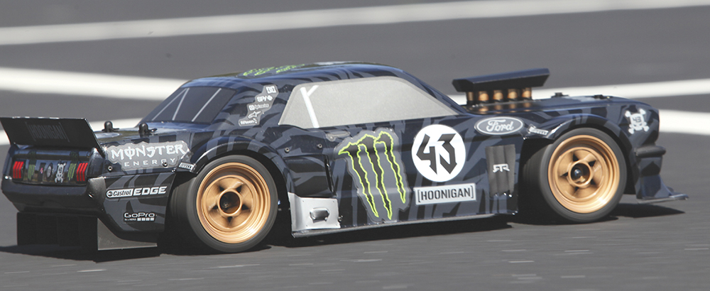 Here s how hpi s hoonicorn stacks up against ken block s full size ride rc car action - Hoonicorn specs ...