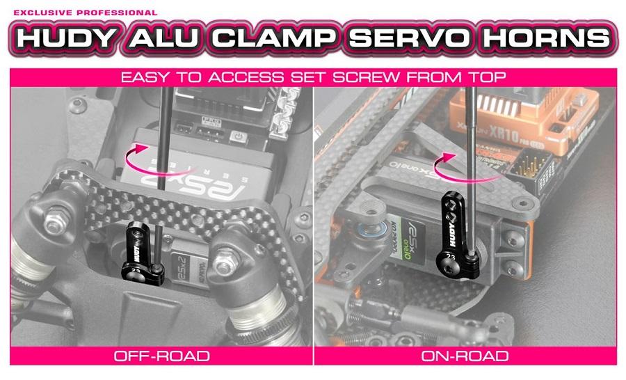 HUDY Aluminum Servo Horns