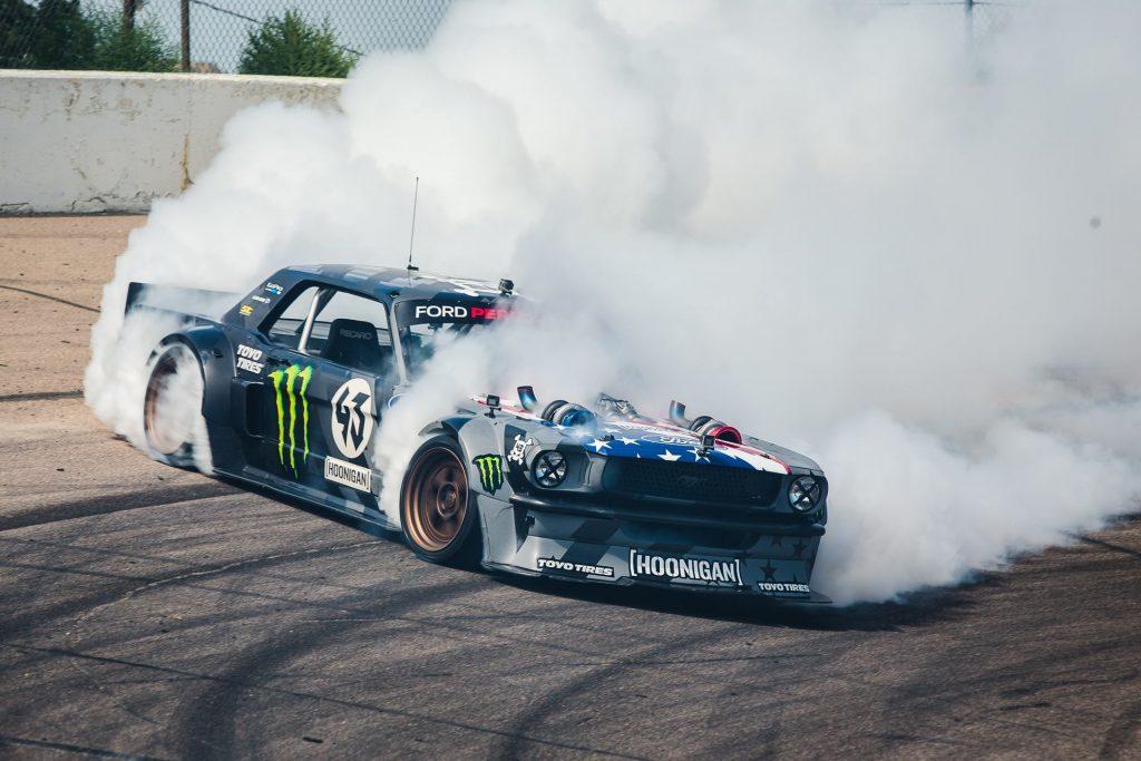 Hoonigan Mustang Drift