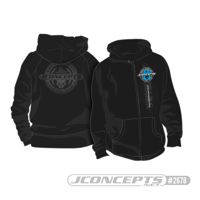JConcepts 15th Anniversary Skull Hoodie
