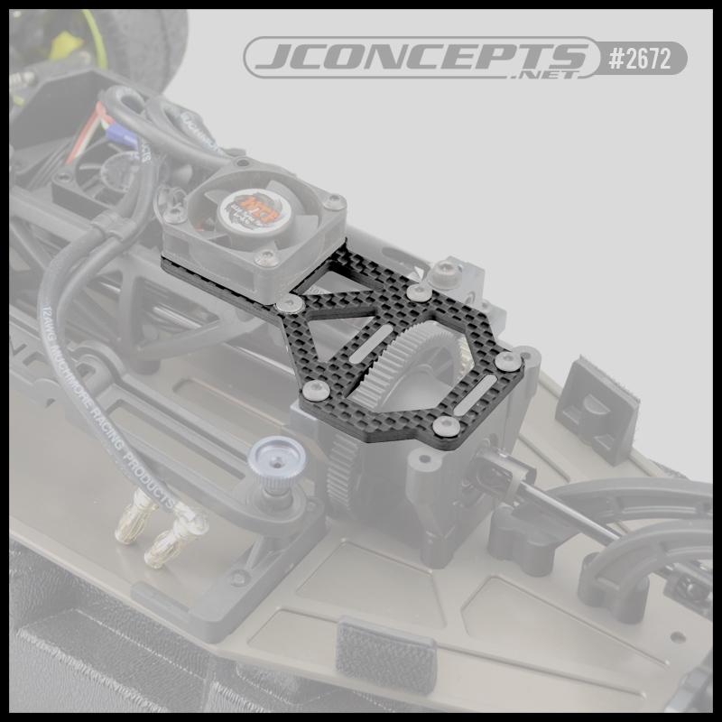 Jconcepts Carbon Fiber Upper Deck For The Tekno Eb410 Rc