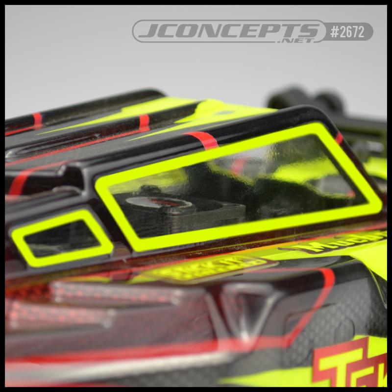 JConcepts Carbon Fiber Upper Deck For The Tekno EB410