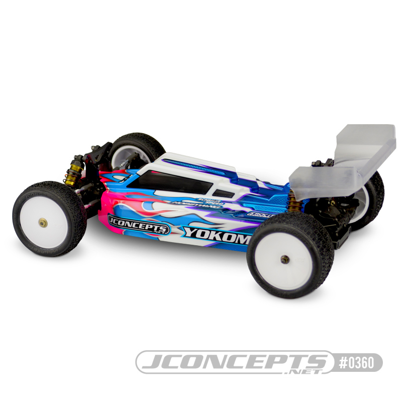 JConcepts F2 Clear Body For The Yokomo YZ4-SF