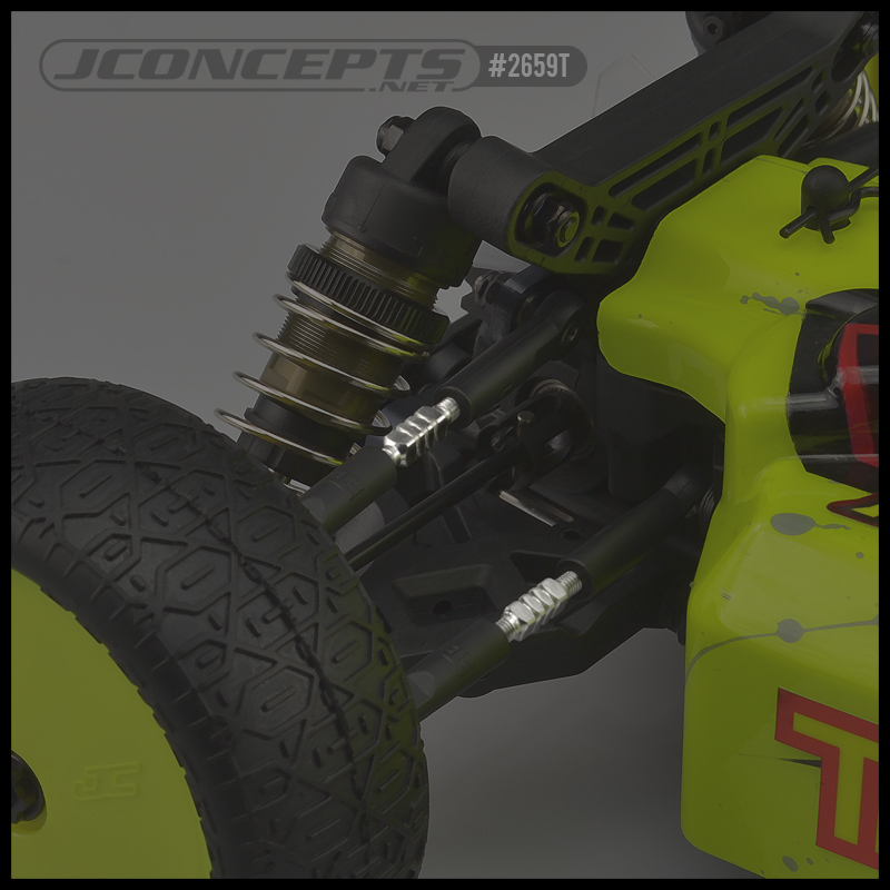 JConcepts Fin Titanium Turnbuckle Set For The Tekno EB410