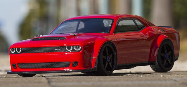 Kyosho Inferno GT2 VE Dodge Challenger SRT Demon