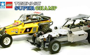 Amazing Lego Versions of Classic Tamiya Cars [VIDEO]