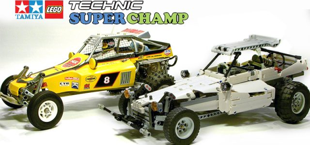 Amazing Lego Versions of Classic Tamiya Cars [VIDEO]
