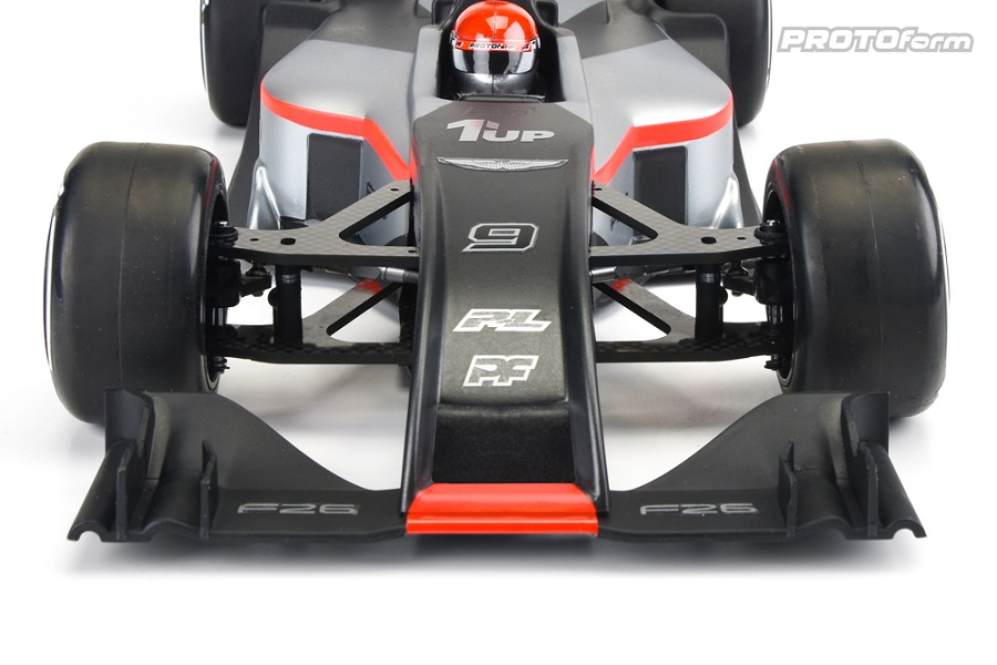 PROTOform F26 Clear Body For 1/10 Formula 1 Cars