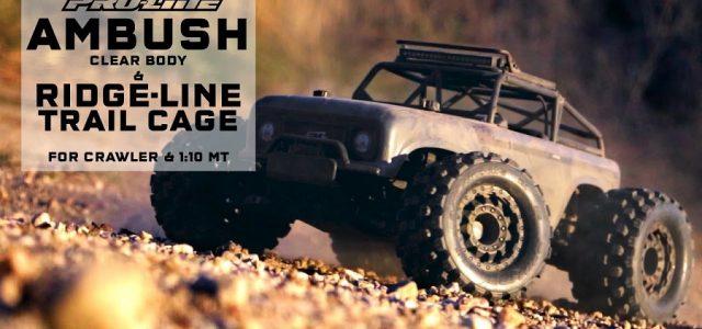 Pro-Line Ambush Body & Ridge-Line Trail Cage [VIDEO]
