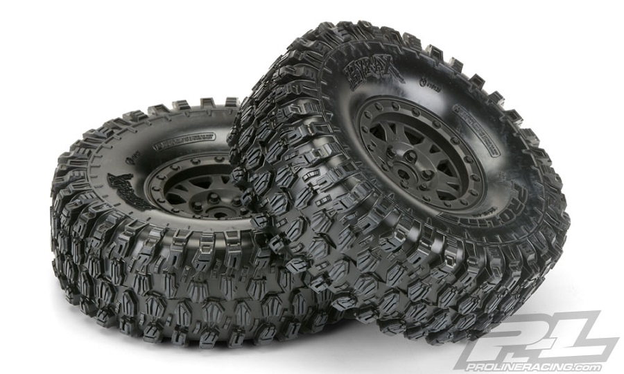 "Pro-Line Mounted Hyrax 1.9"" G8 Rock Terrain Truck Tires"