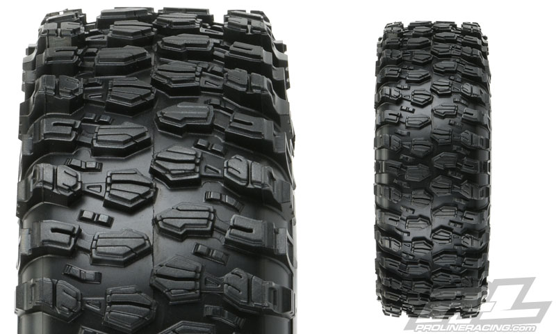 "Pro-Line Mounted Hyrax 1.9"" G8 Rock Terrain Truck Tires"