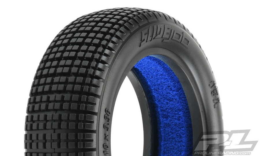 """Pro-Line Slide Job 2.2"""" Dirt Oval Front Buggy Tires"""