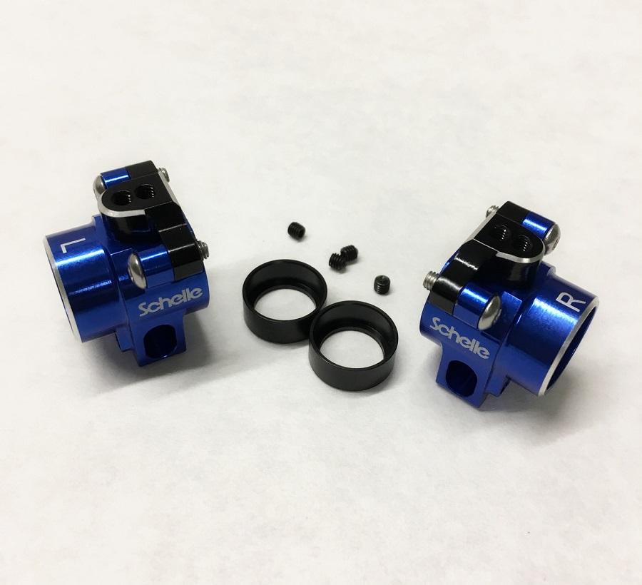 Schelle B6.1 Aluminum Rear Hubs