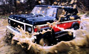 Traxxas TRX-4 Bronco Off-Road Mudding Adventure [VIDEO]