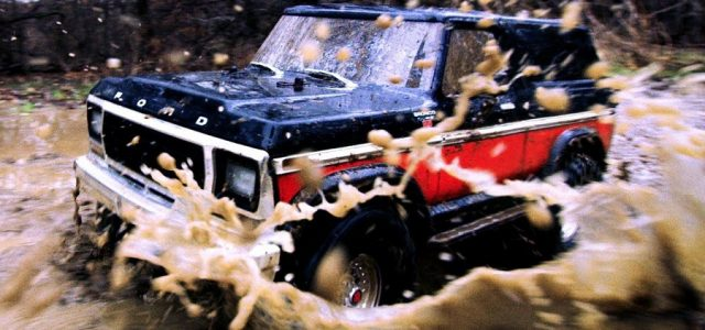 Traxxas TRX-4 Bronco Off-Road Mudding Adventure [VIDEO] - RC