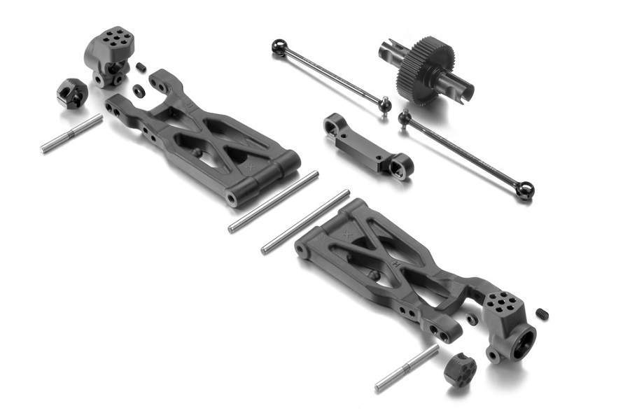 XRAY Dirt Rear Suspension Conversion Set For The XB2