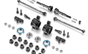 XRAY XB2C Factory Team Rear Aluminum Uprights