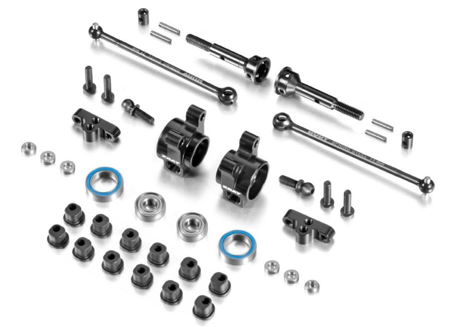 XRAY XB2 Factory Team Rear Aluminum Uprights