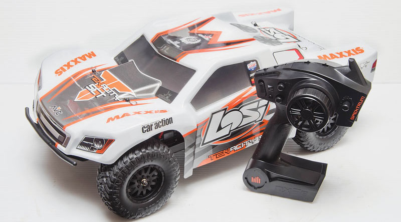 RC Review: Losi/Horizon Hobby Tenacity SCT - vehicle specs