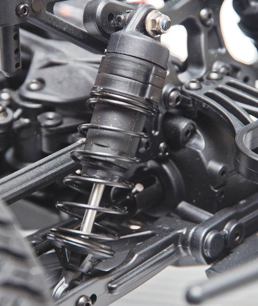 RC Review: Losi/Horizon Hobby Tenacity SCT - shocks