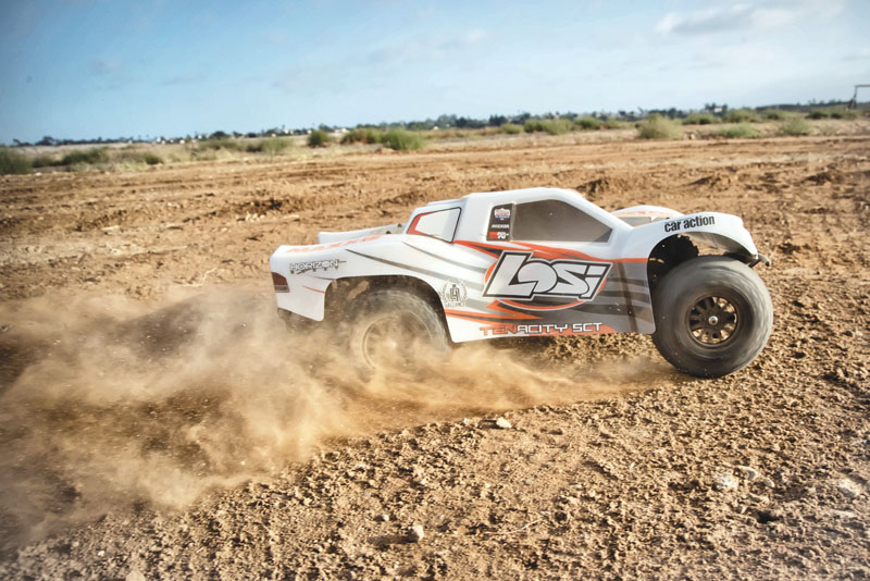 RC Review: Losi/Horizon Hobby Tenacity SCT - behind the wheel