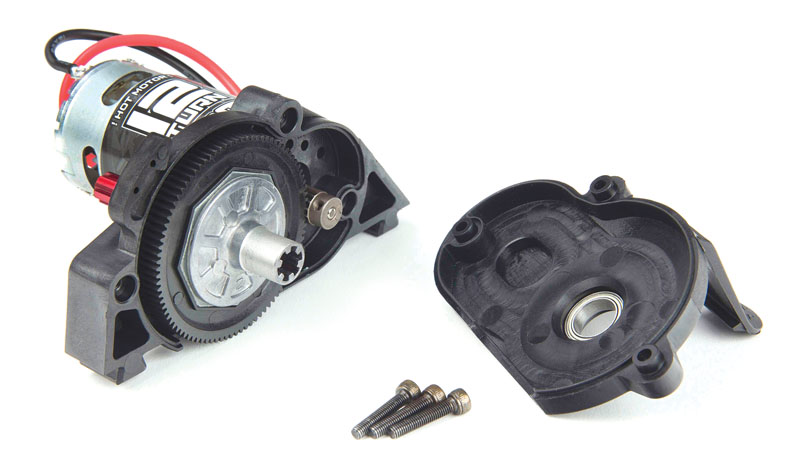 RC Reviews: AARMA GRANITE 4X4 - slipper clutch and pinion gears