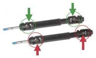 TECH CENTER: Does it matter which way the yokes face on a telescoping driveshaft?