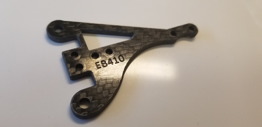 Factory RC Releases Tekno EB410 Carbon Fiber Option Parts