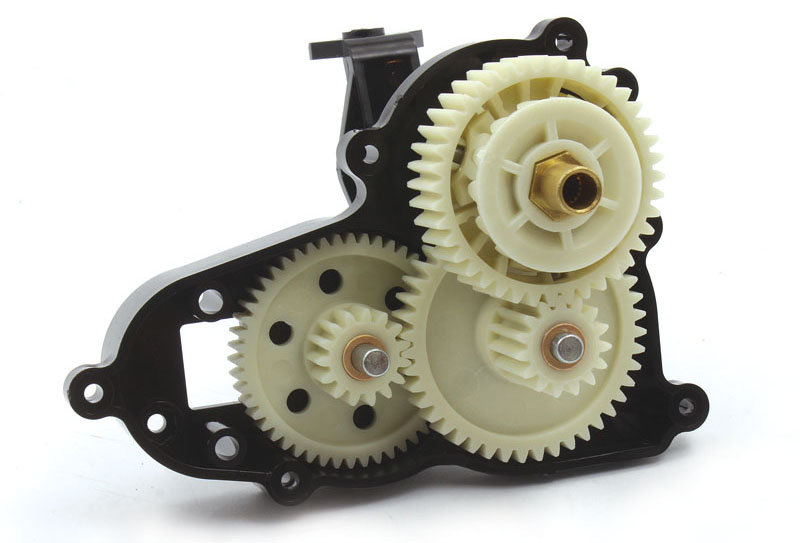 RC Review Tamiya Bullhead beefy gearbox