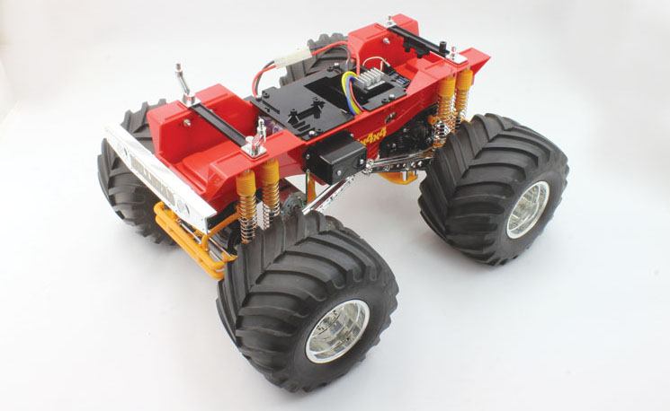 RC Review: Tamiya Bullhead - injection molded tub