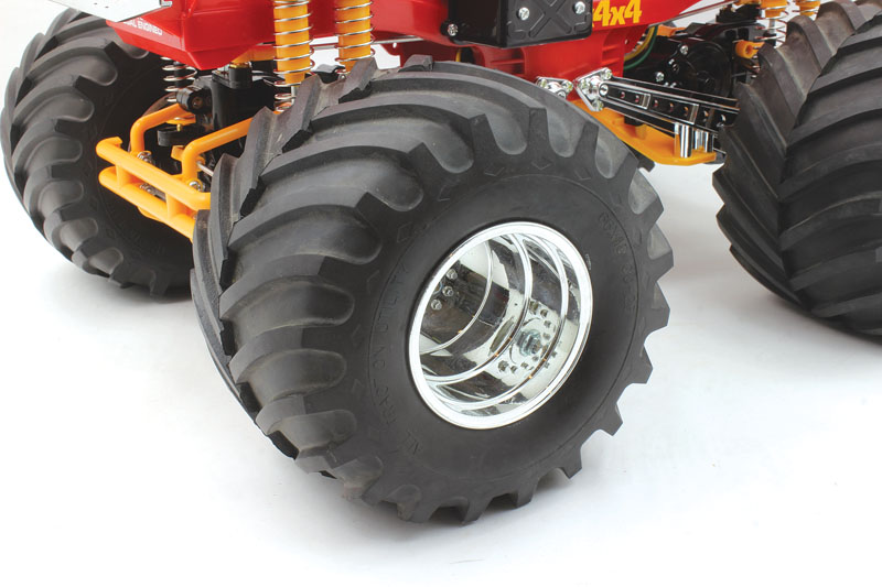 RC Review Tamiya Bullhead Terra treaded tires