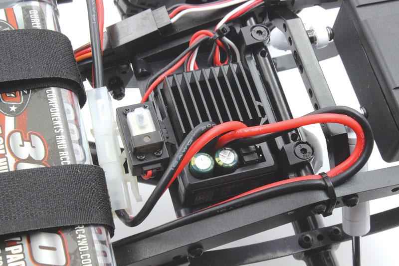 RC4WD Trail Finder 2 Blazer - speed control