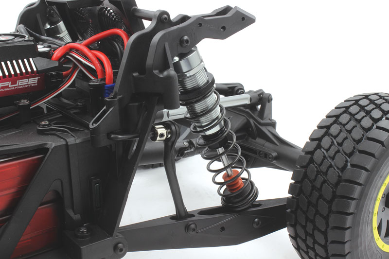 RC Reviews: Losi/Horizon Hobby Super Baja Rey - aluminum shocks