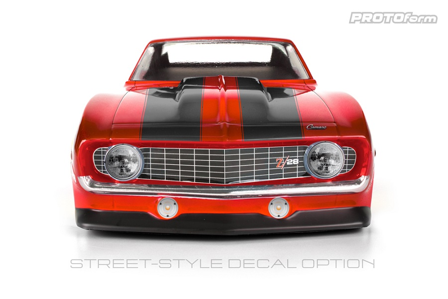 PROTOform 1969 Chevrolet Camaro Z28 Clear Body