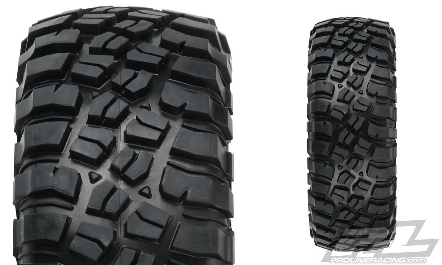 "Bf Goodrich Truck Tires >> Pro-Line BFGoodrich Mud-Terrain T/A KM3 1.9"" Tires - RC Car Action"