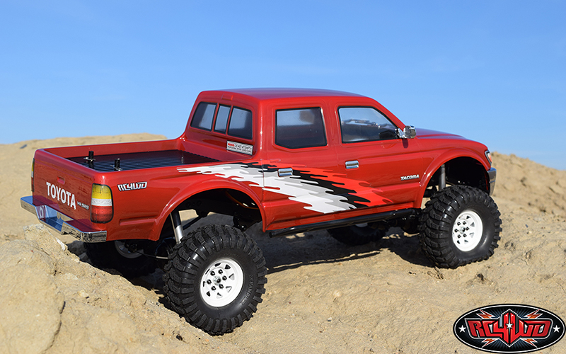 RC4WD 2001 Toyota Tacoma 4 Door Clear Body
