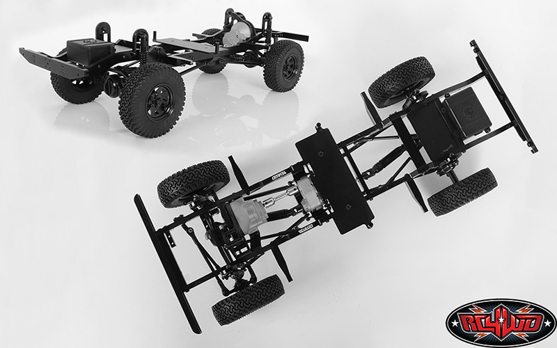 RC4WD Gelande II Truck Kit LWB 1/10 Chassis Kit