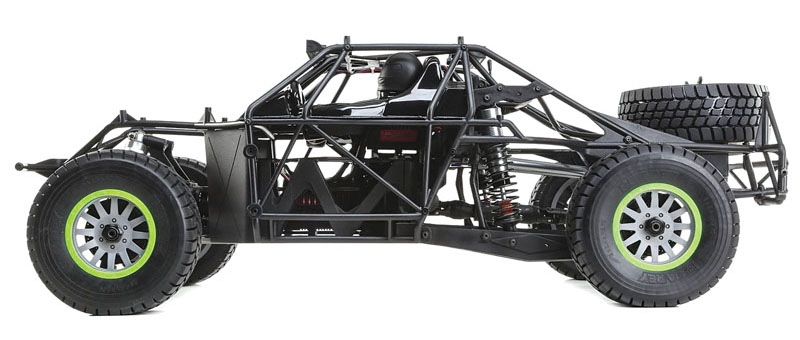 RC Review: Losi/Horizon Hobby Super Baja Rey - rollcage