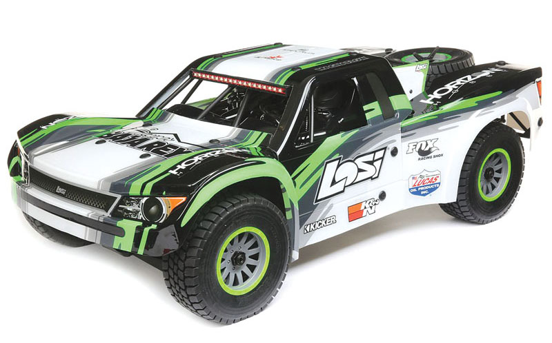 RC Review Losi/Horizon Hobby Super Baja Rey - four piece body