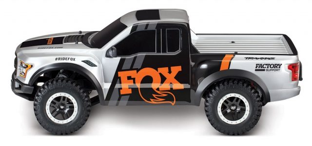Traxxas RTR 2017 Ford Raptor Slash With Fox Body - RC Car Action