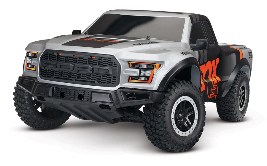 Traxxas RTR 2017 Ford Raptor Slash With Fox Body